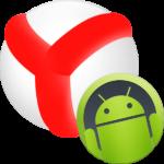 Иконка Яндекс браузер на Андроидд