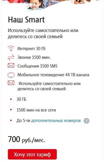 Описание тарифов МТС Самарской области в 2021 году