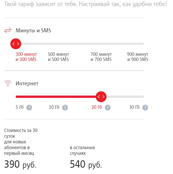 мтс тарифы ростовская область безлимитище