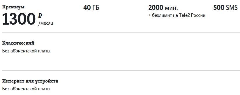 Обзор всех тарифов Теле2 в Омске в 2021 году