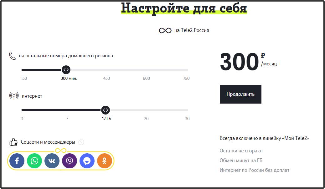 Тариф Мой онлайн теле2 - Орел 2018 год