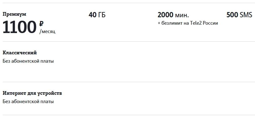 Обзор тарифов в Саратове от Теле2 в 2021 году