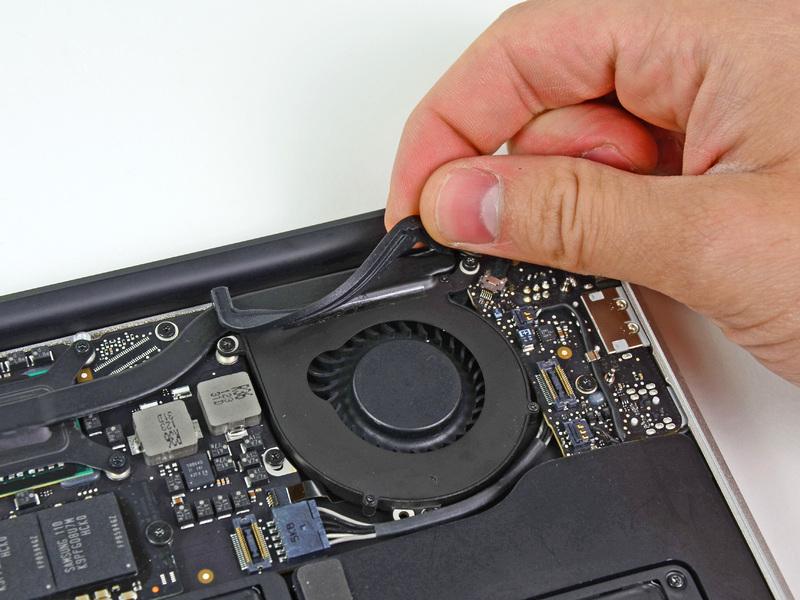 Замена кулера ноутбука