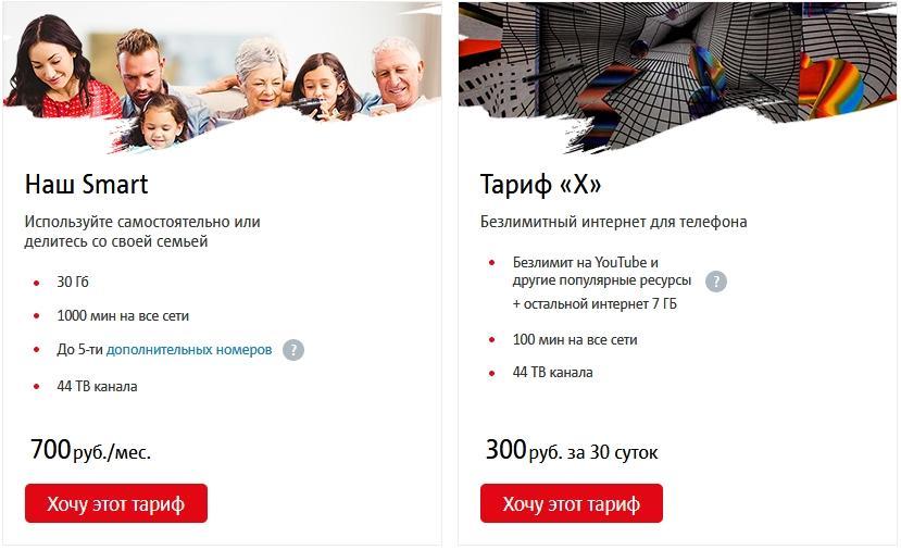 Описание тарифов для Кемеровской области от МТС в 2021 году