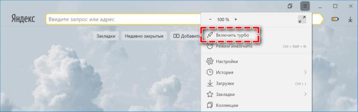 Турбо в Яндексе