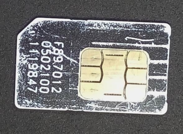 теле2 сим-карта повреждена