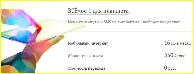 всемое для планшета от билайн в белгороде