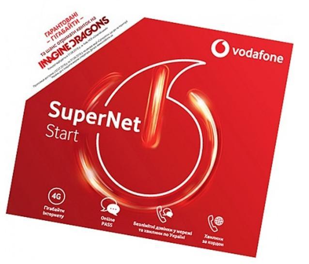 Особенности подключения тарифа SuperNet Start Водафон