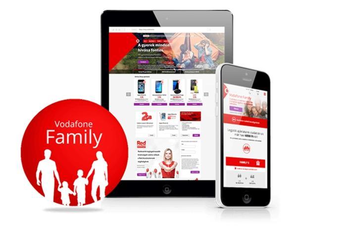 Тариф Vodafone Family – будь на связи с родными