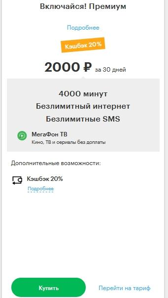 Описание тарифов для Нижнего Новгорода в 2021 году от Мегафона
