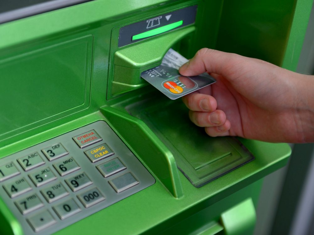 пополнить счет теле2 банкомат