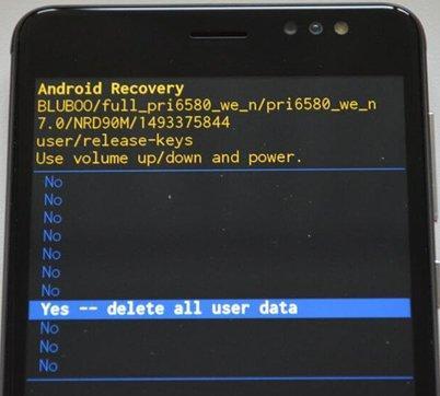 Как сбросить настройки Андроид телефона