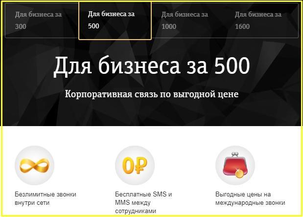 мобильная связь для бизнеса от билайн в челябинске