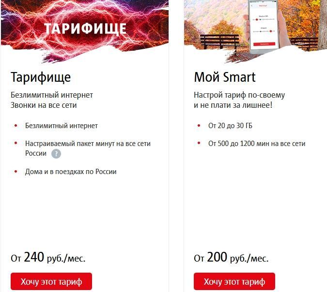 Описание тарифов для Нижнего Новгорода от МТС в 2021 году