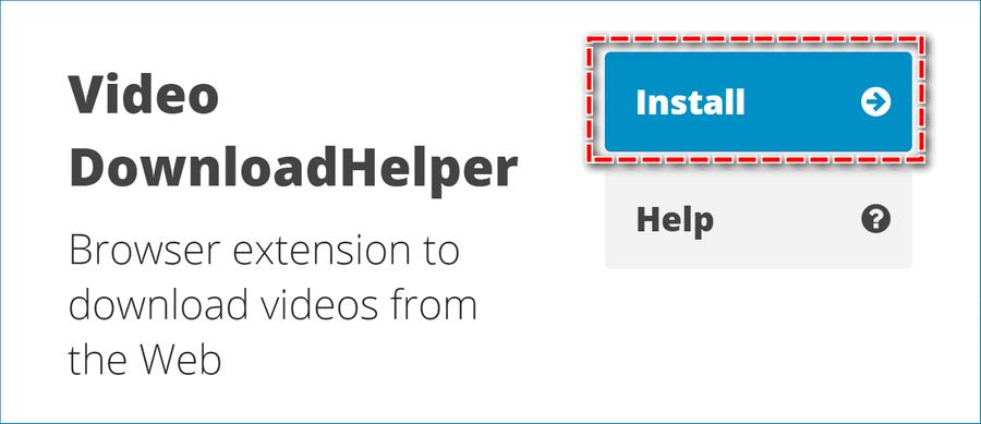 Скачать DownloadHelper