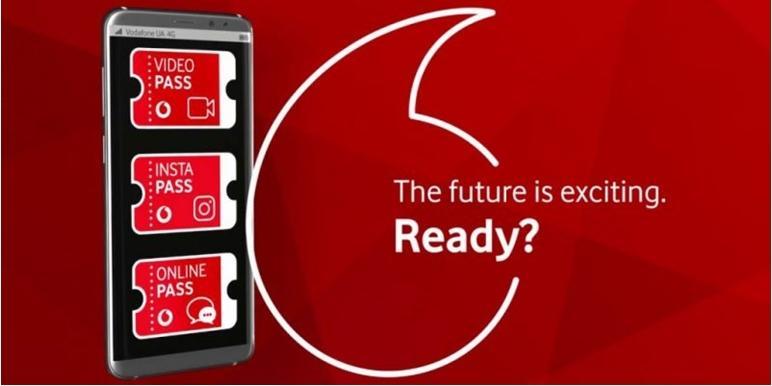Услуга Водафон «PASS» для получения безлимитного доступа к мультимедийным сервисамм