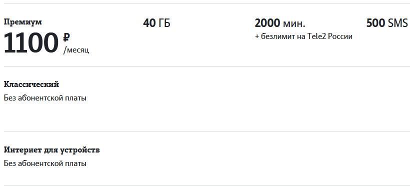 Обзор тарифов Теле2 в Архангельске и области в 2021 году