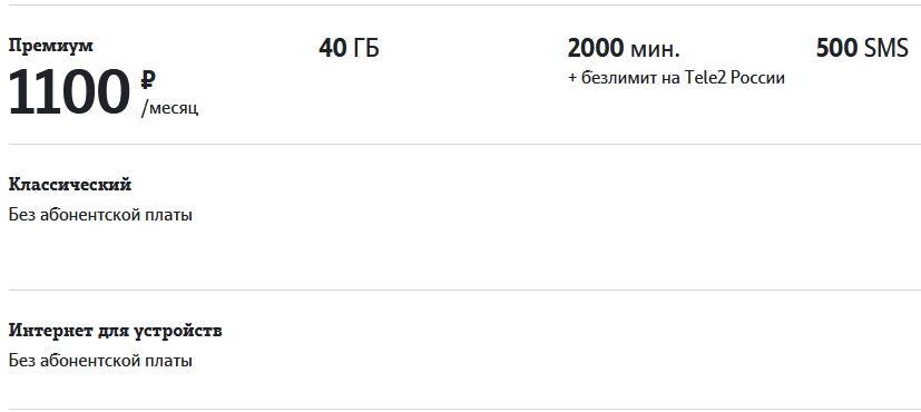 Обзор тарифов Теле2 в Нижнем Новгороде в 2021 году